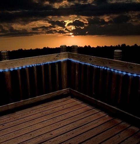 Outdoor Deck Rope Lighting