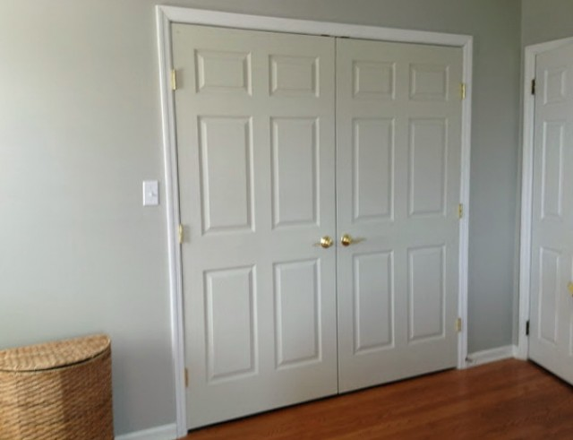 Repurpose Louvered Closet Doors