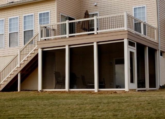 Screened Porch Under Deck Ideas