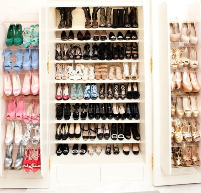 Sliding Shoe Racks For Closets