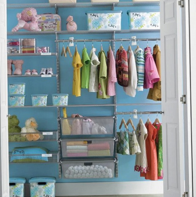 Small Closet Organization For Kids