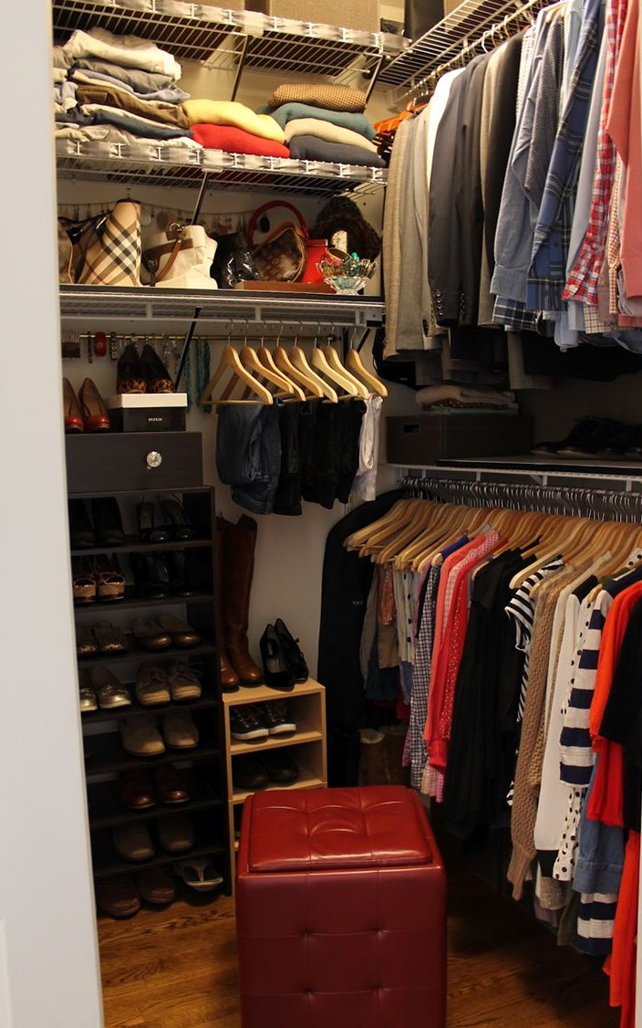 Small Closet Organization Ideas Pinterest