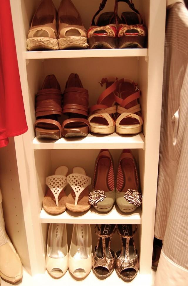 Small Closet Shoe Organizer