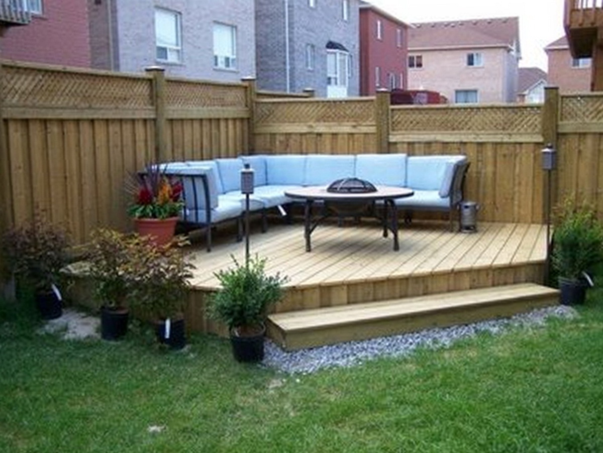 Small Deck Ideas On A Budget