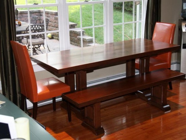 Small Kitchen Tables With Bench