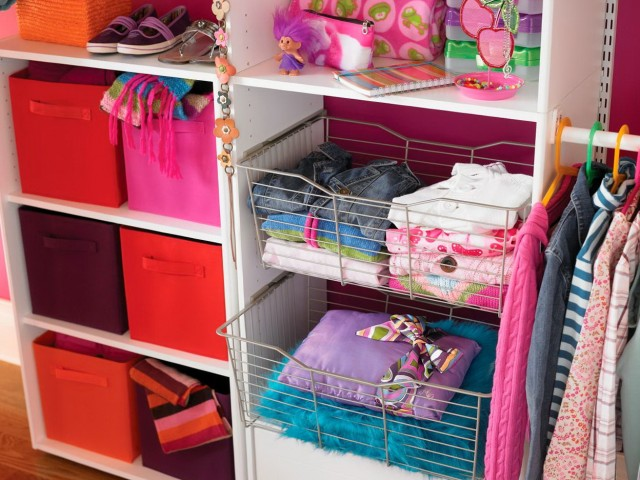 Small Shared Closet Organization Ideas