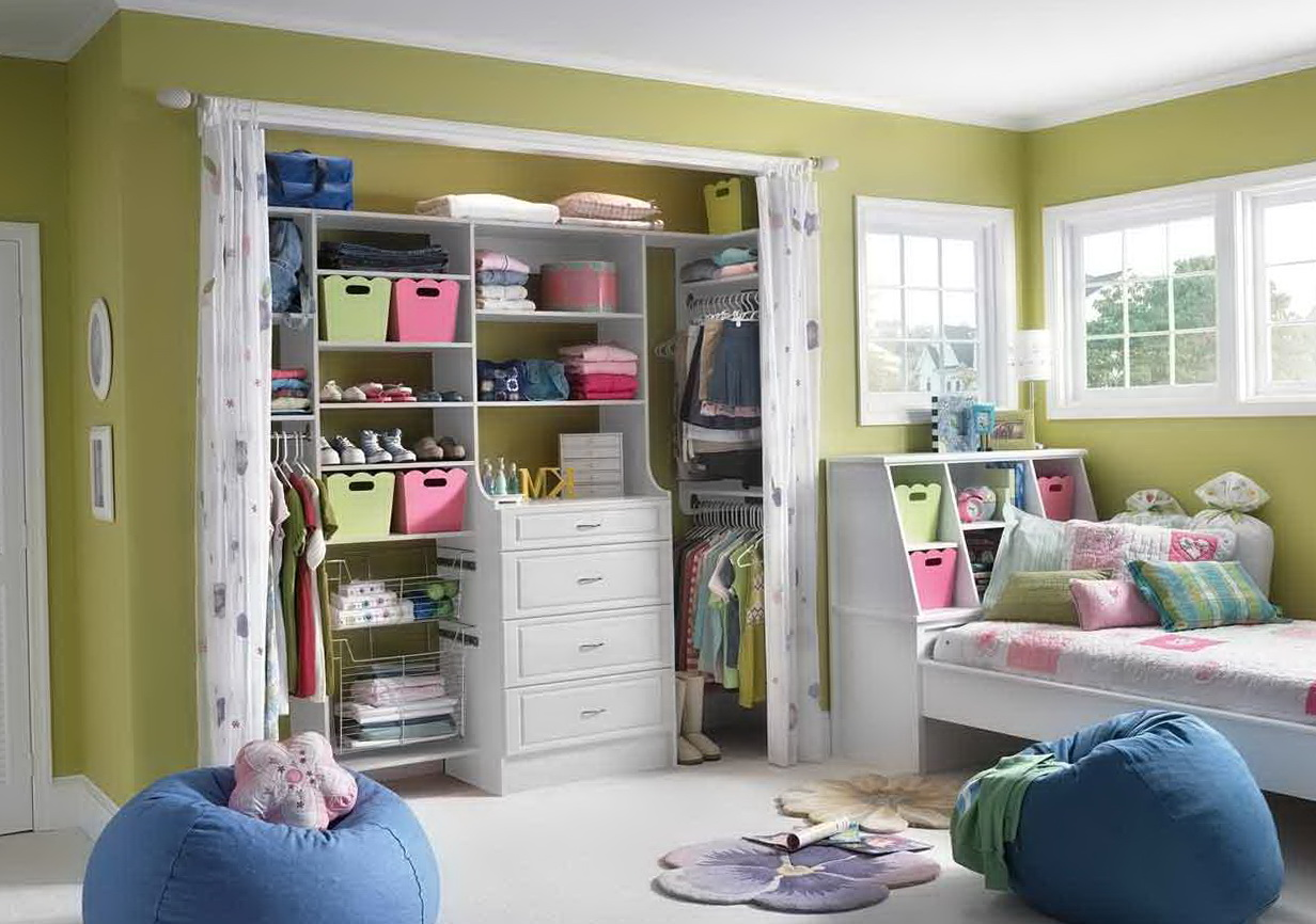 Walk In Closet Designs For Teenage Girls