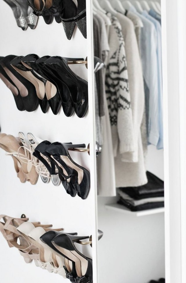 Walk In Closet Shoe Rack