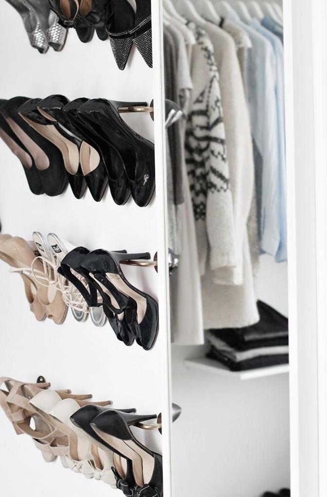 Walk In Closet Shoe Rack