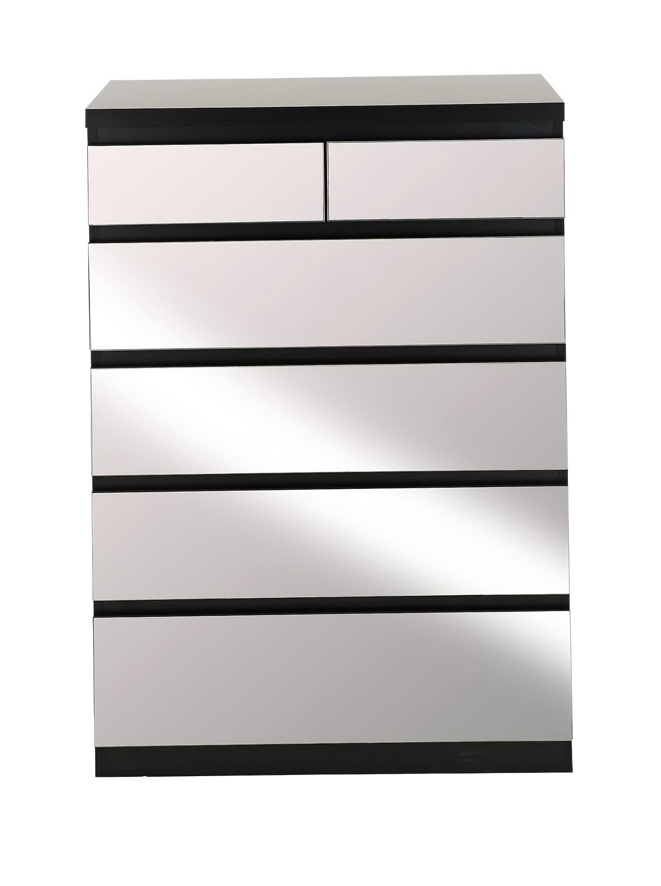 White Chest Of Drawers With Mirror