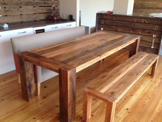 Wood Bench For Dining Table