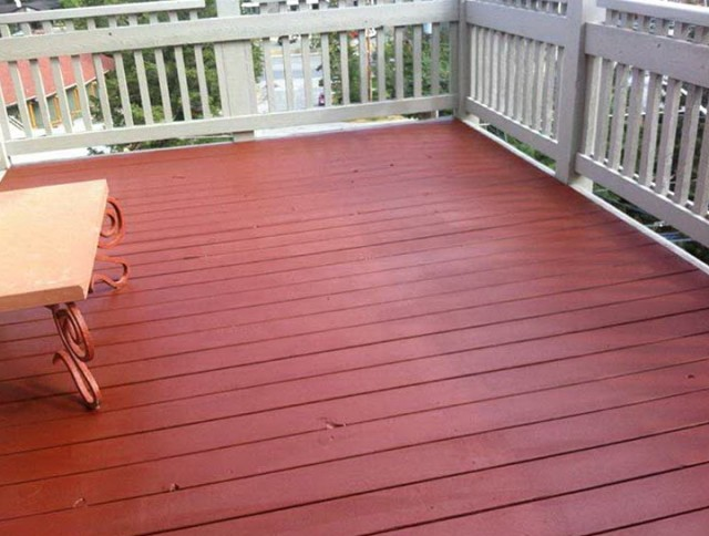 Wood Deck Coating Systems
