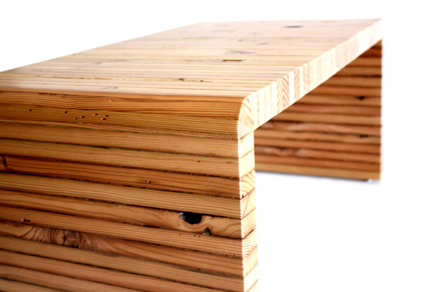 Wooden Bench Coffee Table