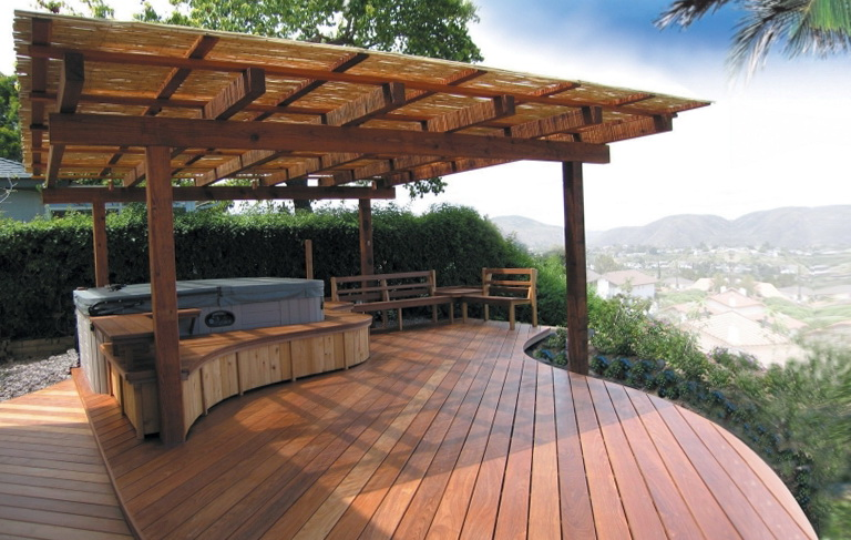 Backyard Deck Designs Ideas