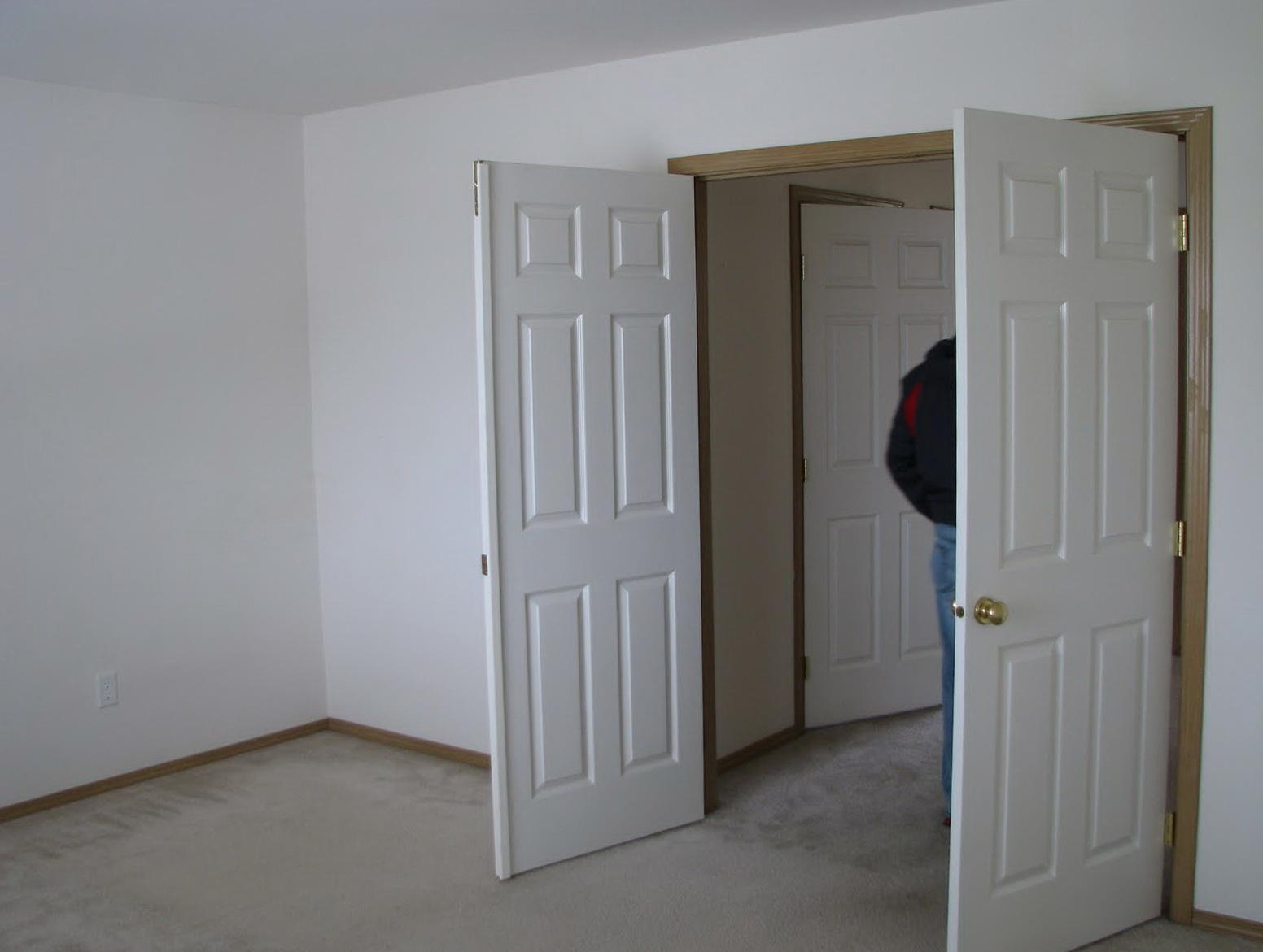 Bedroom Closet French Doors
