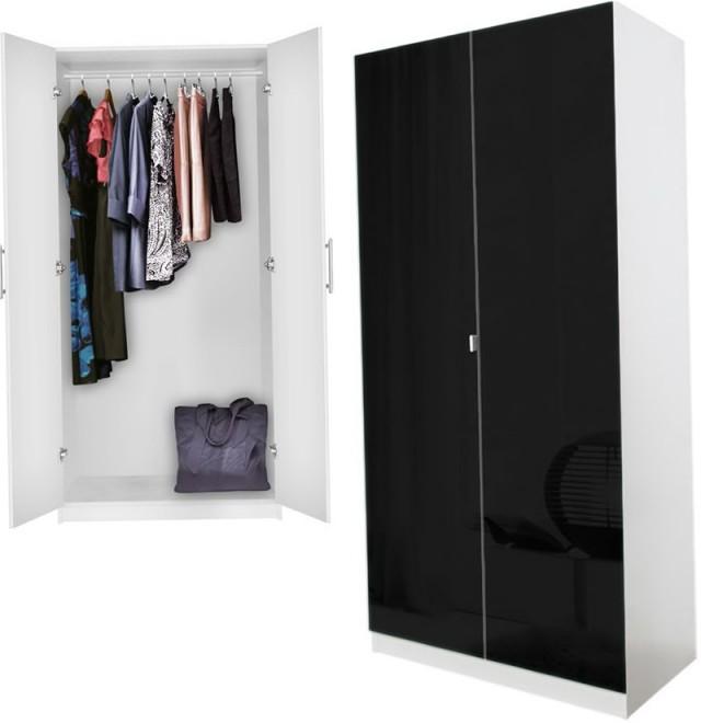 Black Wardrobe Closet Ikea