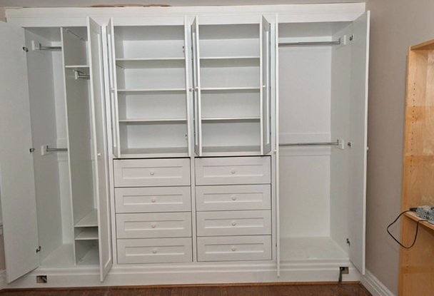 Built In Closets For Bedroom