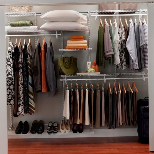 Closet Shelf Organizer Home Depot