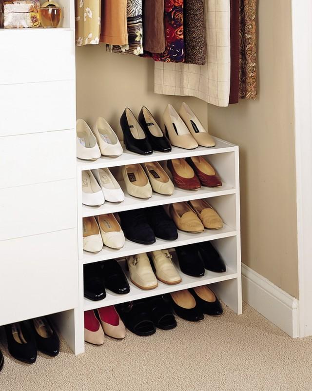 Custom Shoe Rack For Closet