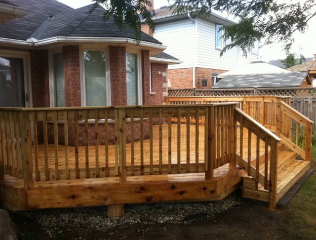 Deck Baluster Spacing Code Canada