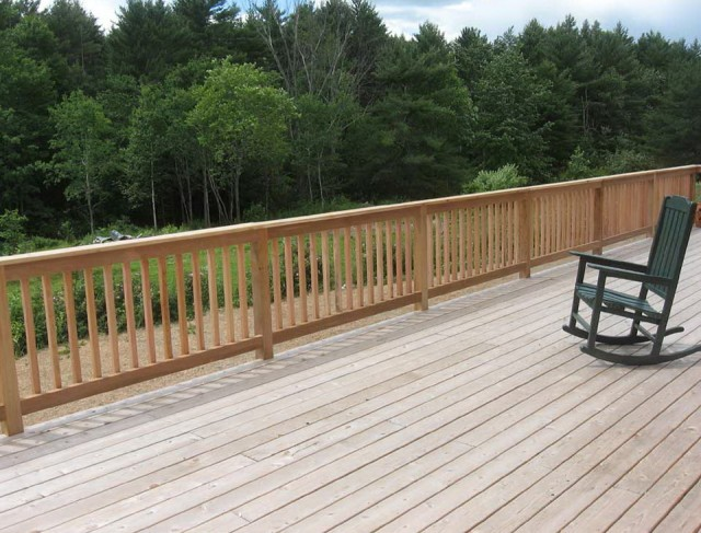 Deck Baluster Spacing Formula