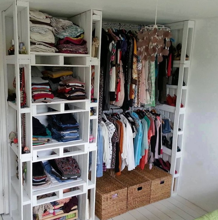 Diy Closet Organization Pinterest
