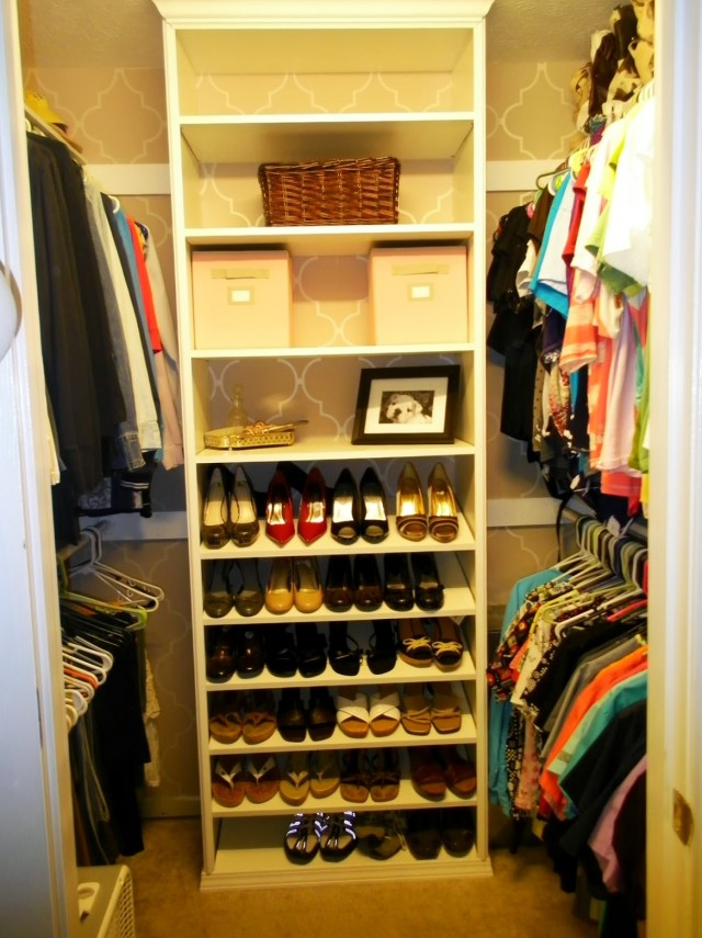 Diy Closet Shoe Storage