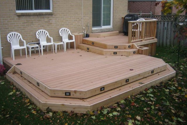 Diy Deck Building Plans
