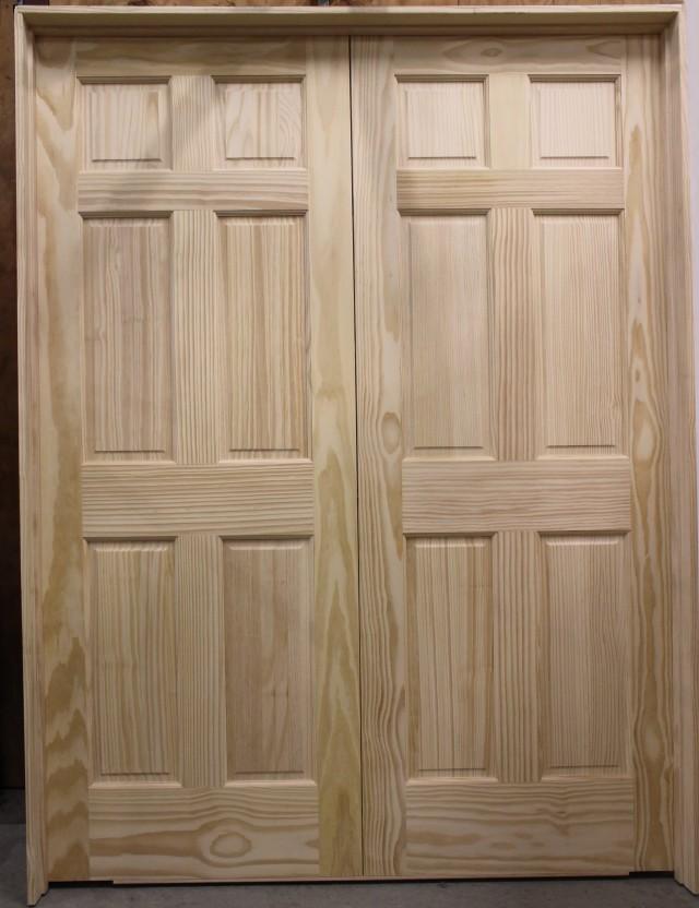 Double Closet Doors Prehung