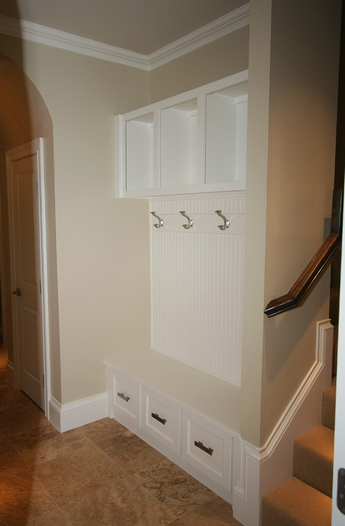 Front Hall Closet Shoe Storage