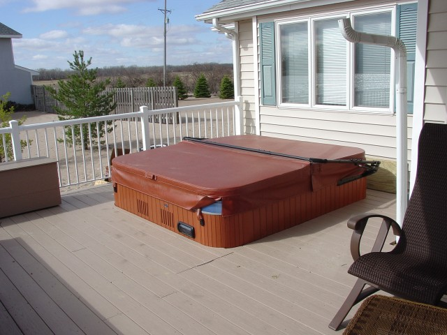 Hot Tub On Deck Ideas