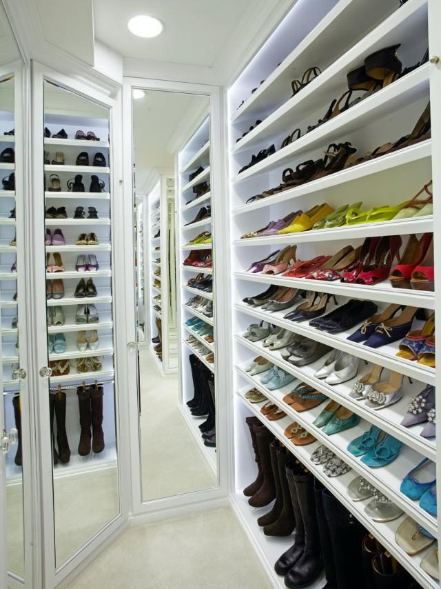 How To Design A Shoe Closet