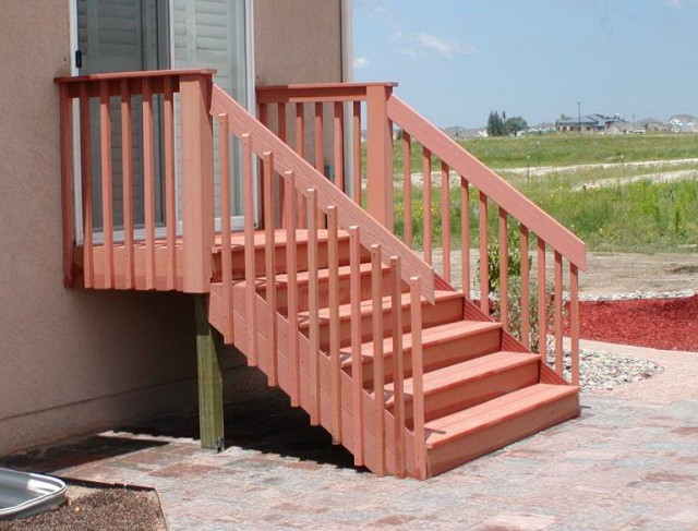 How To Make Handrails For Decks