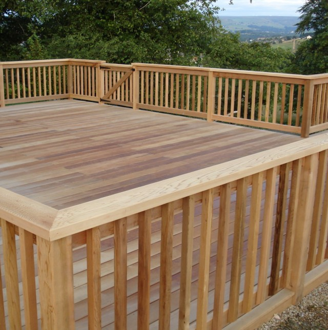 Ideas For Handrails On Decks