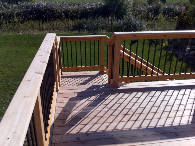 Installing Deck Railing Top Cap