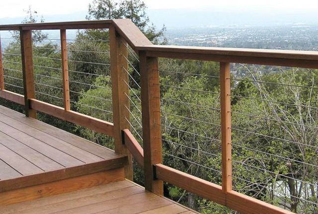 Installing Deck Railing Video