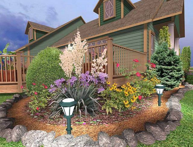 Landscaping Around Deck Ideas