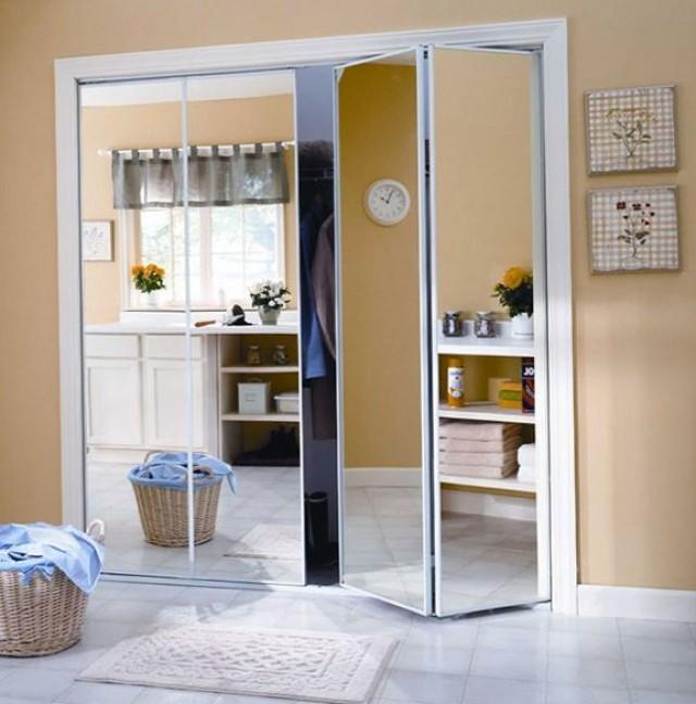 Mirrored Sliding Closet Doors Installation