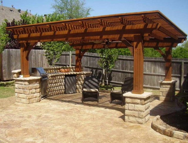Outdoor Deck Roof Ideas