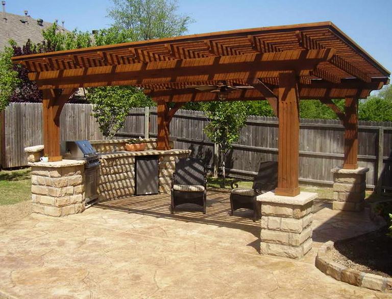 Outdoor Deck Roof Ideas
