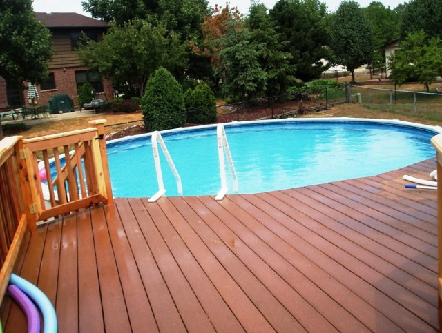 Pools With Decks Pictures
