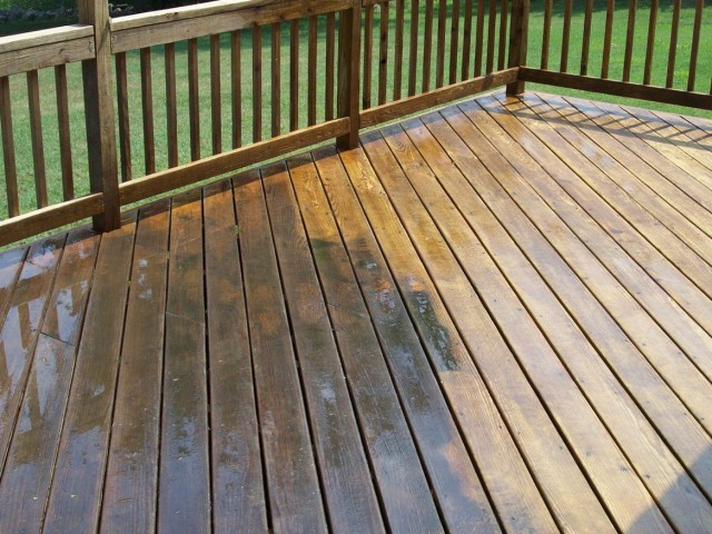 Pressure Washing Deck Chemicals