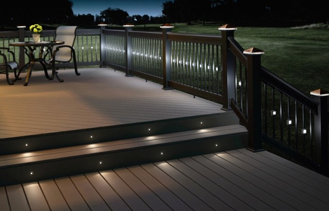 Recessed Deck Lighting Kits