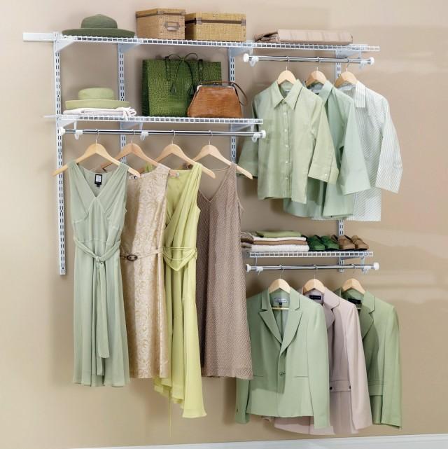 Rubbermaid Closet Organizer Kits