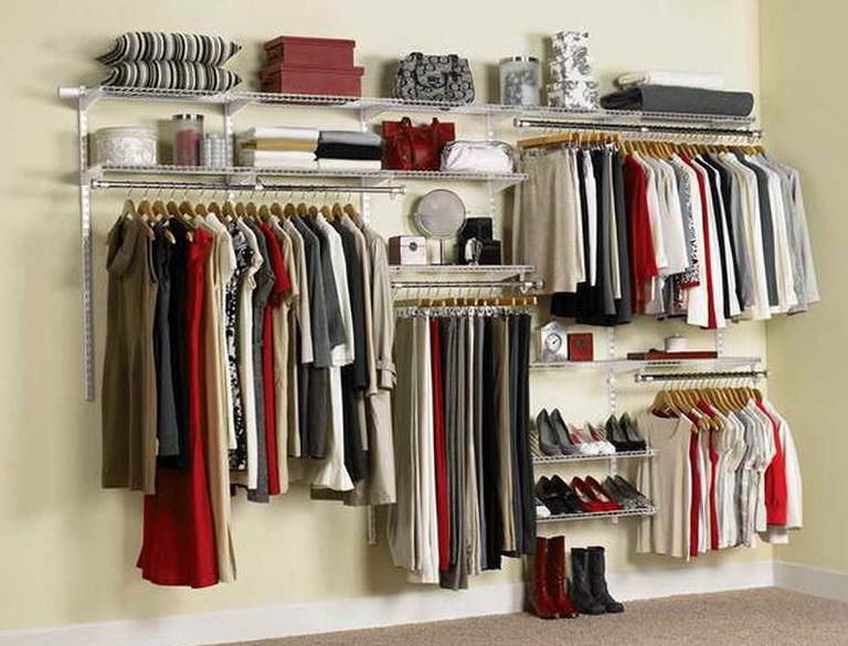 Rubbermaid Closet System Design