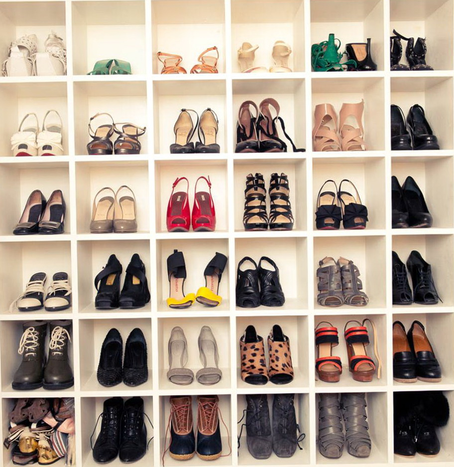 Shoe Closet Organizer Ideas