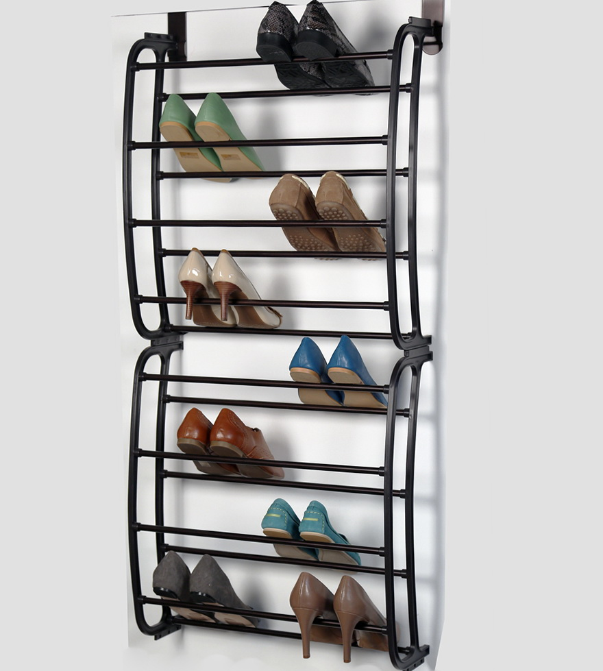 Shoe Rack For Closet Door
