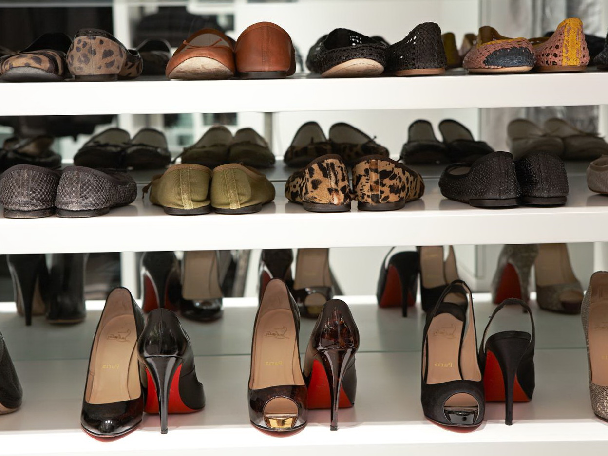 Shoe Shelves For Closet