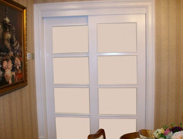 Sliding French Closet Doors