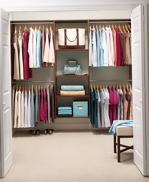 Small Bedroom Closet Solutions